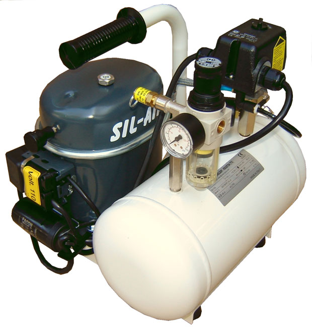 Silentaire Sil-Air 50-6 1/2 HP Oil Lubricated Silent Compressor