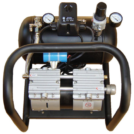 Silentaire AMP 50-8-TC 5/8 HP Oil Free Quiet Compressor