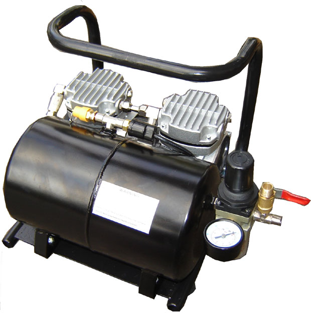 Silentaire Scorpion IIW-TT 1/3 HP Oil Free Quiet Compressor