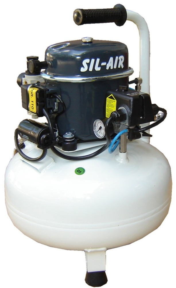 Silentaire Sil-Air 50-24 1/2 HP Oil Lubricated Silent Compressor