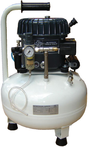 Silentaire Val-Air 50-24 AL 1/2 HP Oil Lubricated Compressor
