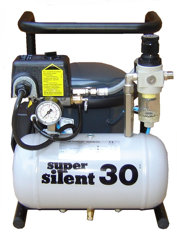 Silentaire 30-TC 1/3 HP Super Silent Oil Lubricated Compressor