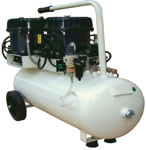 Silentaire Val-Air 150-50 AL 3x1/2 HP Oil Lubricated Compressor