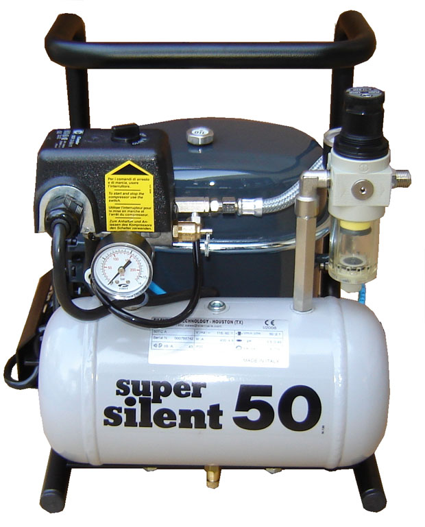 Silentaire 50-TC 1/2 HP Super Silent Oil Lubricated Compressor